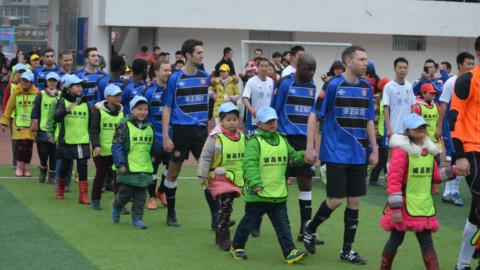 Football in Chengdu, China