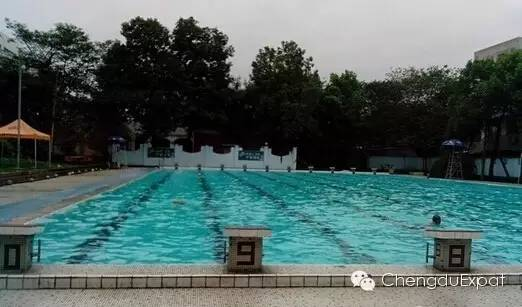 Sichuan University Wangjiang East swimming pool