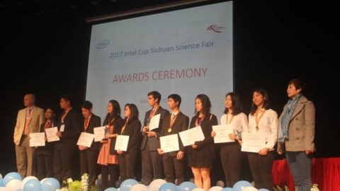 2017 Intel Cup Sichuan Science Fair – the Winners