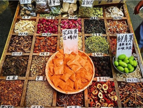 Chinese herbal teas and medicines at Chengdu's markets 🍵@chengdufoodtours