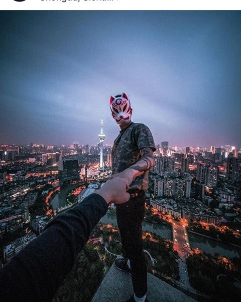 Chengdu from above 🌇@lamyock