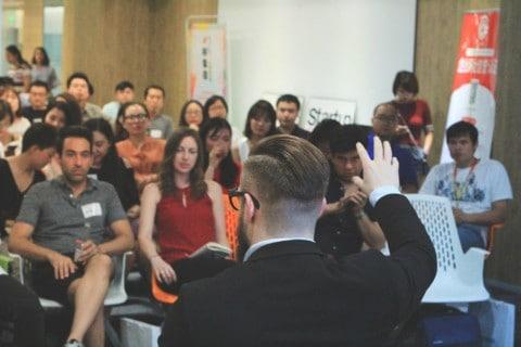 Advice to Chengdu Startups – From Trevor Owens