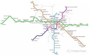 Metro Line 7 of Cuijiadian