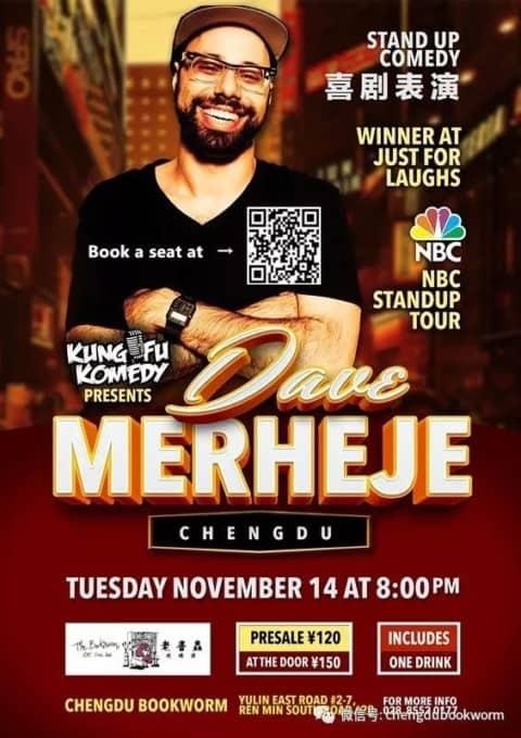 14 Nov.: Chengdu Stand Up Comedy Night